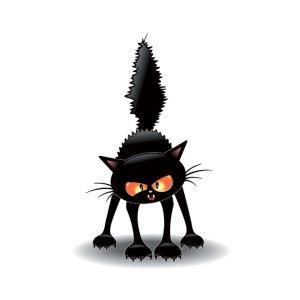 40104-Free-Vector-cat-scrathing-floor